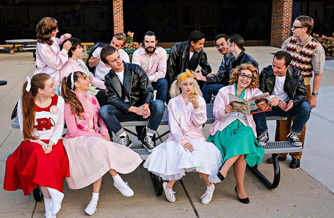 Pictured, first row, left to right, Monica Hauschild, Lara Bell, Patrick Wicklow, Jessica Oliver, Angelina Straus, Matthew Luccetti. and top row, left to right, Ariella Simandl, Jessica Santos, Ben Carver, Gary Mackowiak, Julius Alfaro, Nicholas Mule, Ethan Sherman, Liam Bell. Not pictured are: Peri Sindberg, Heidi Boring, William Boyd, Mary Beth Brown.