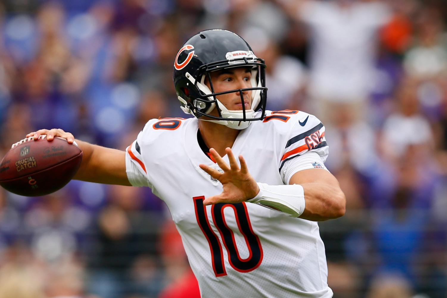 Rookie Mitchell Trubinsky could be answer for Bears fans