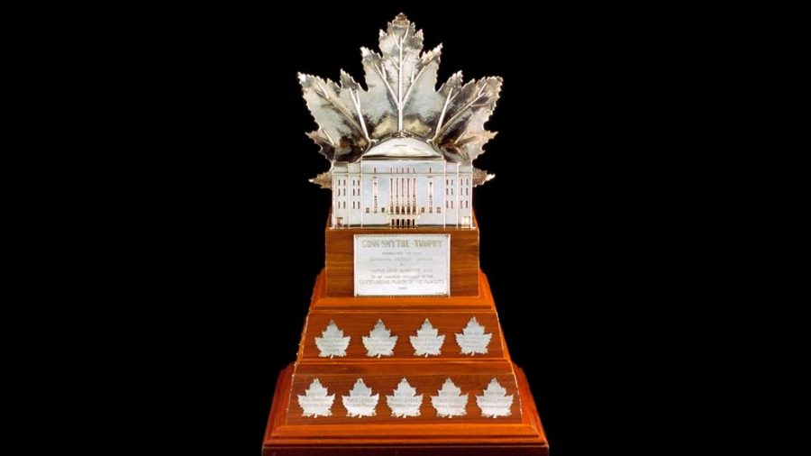 The+Conn+Smythe+trophy+is+presented+to+the+most+valuable+player+of+the+NHL++season+