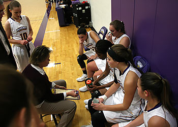 Women's basketball team rolling on despite hurdles