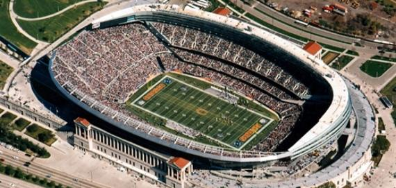 Soldier Field, home of the Bears
