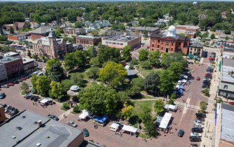 Woodstock Square is central to town events