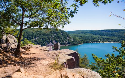 Wisconsin's Devil's Lake State Park is beautiful no matter the season.