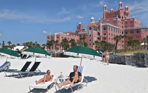 The historic Don Cesar Hotel is an icon of St. Pete Beach.