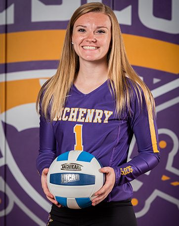 Volleyball star is athlete of the month