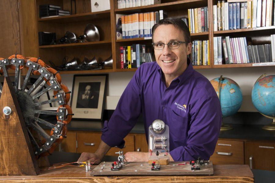 MCC professor Ted Erski