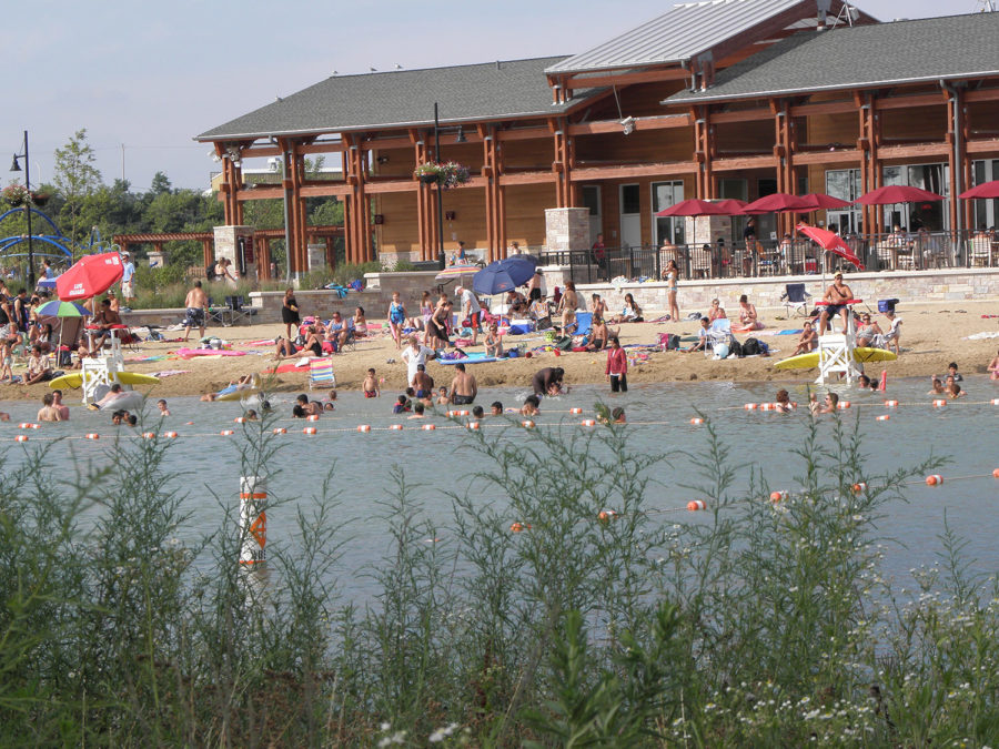 Three Oaks Recreation Area in Crystal Lake is a nearby favorite for summer.